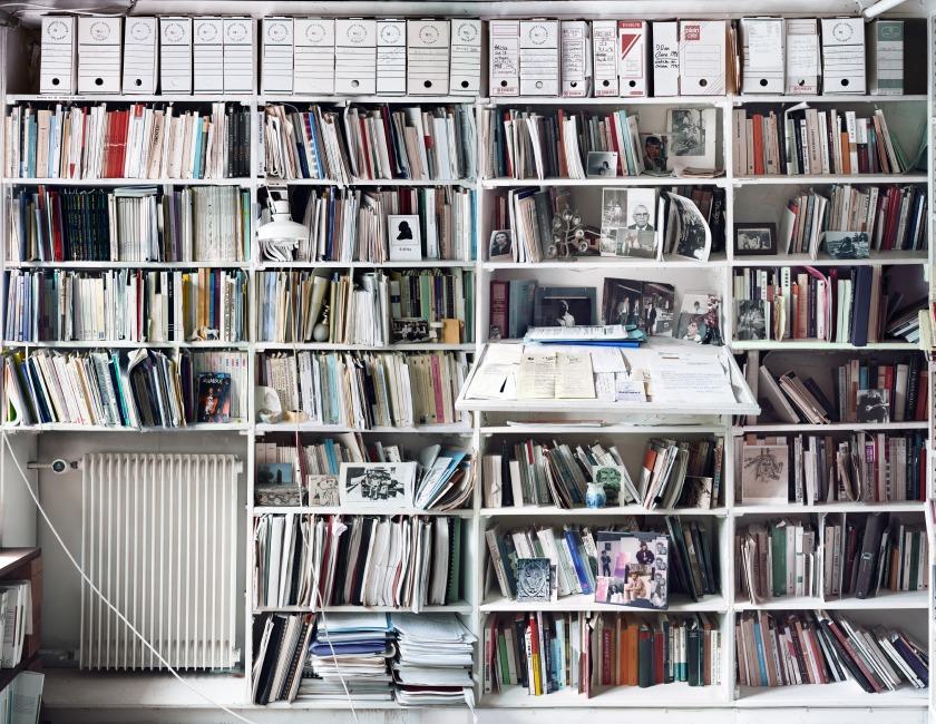 141009 Unpacking Derridas Library_Poster